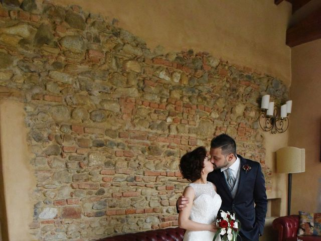 Il matrimonio di Massimiliano e Sara a Carnago, Varese 47