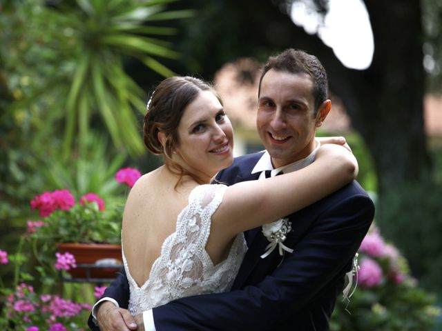 le nozze di Claudia e Matteo