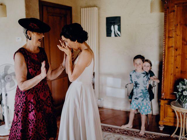 Il matrimonio di Andrea e Eloise a Carmignano, Prato 21