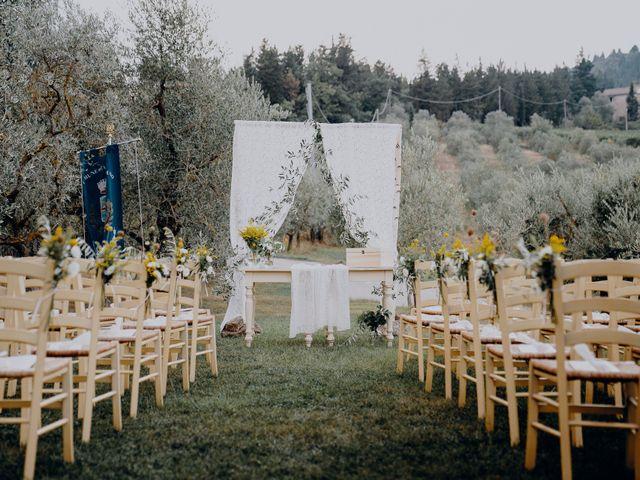 Il matrimonio di Andrea e Eloise a Carmignano, Prato 33