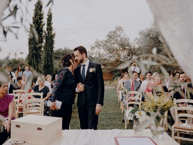 Il matrimonio di Andrea e Eloise a Carmignano, Prato 37