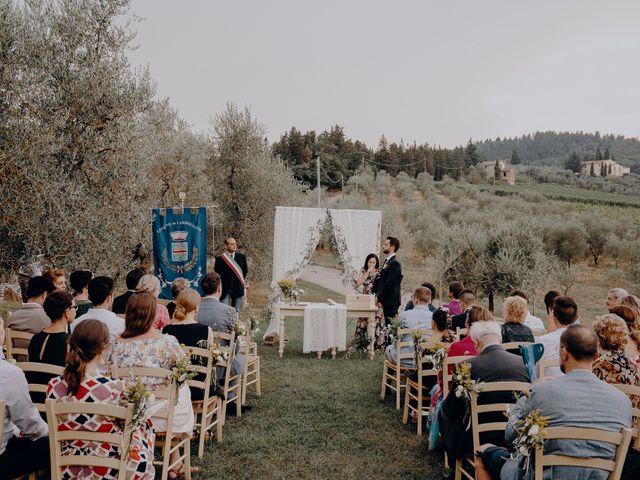 Il matrimonio di Andrea e Eloise a Carmignano, Prato 40