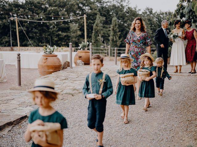 Il matrimonio di Andrea e Eloise a Carmignano, Prato 41