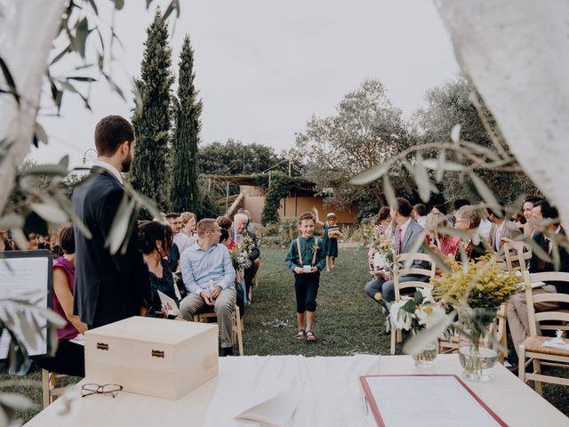Il matrimonio di Andrea e Eloise a Carmignano, Prato 42