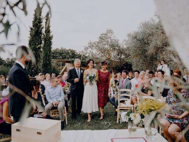 Il matrimonio di Andrea e Eloise a Carmignano, Prato 43