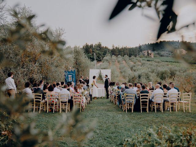 Il matrimonio di Andrea e Eloise a Carmignano, Prato 45