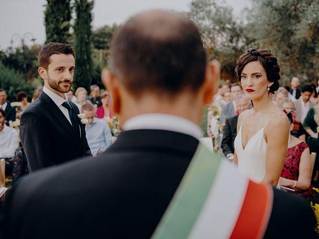 Il matrimonio di Andrea e Eloise a Carmignano, Prato 46