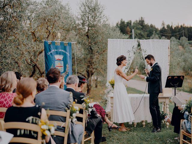 Il matrimonio di Andrea e Eloise a Carmignano, Prato 47