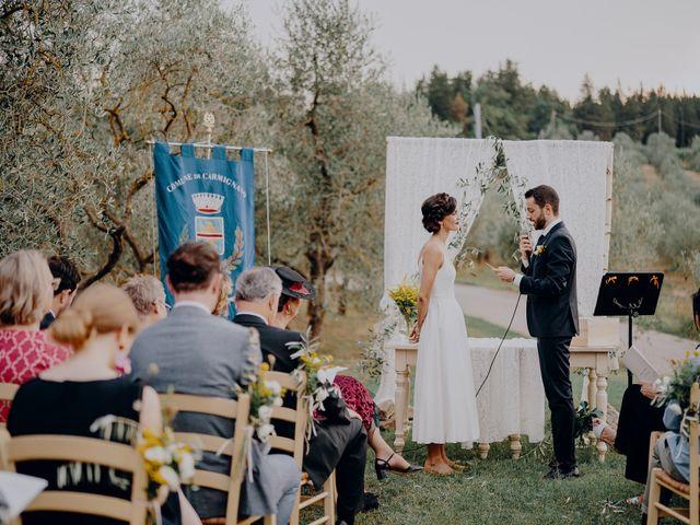 Il matrimonio di Andrea e Eloise a Carmignano, Prato 48