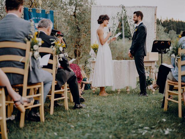 Il matrimonio di Andrea e Eloise a Carmignano, Prato 49