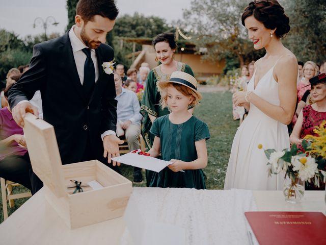 Il matrimonio di Andrea e Eloise a Carmignano, Prato 51