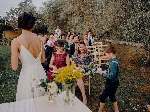 Il matrimonio di Andrea e Eloise a Carmignano, Prato 53
