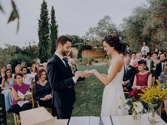 Il matrimonio di Andrea e Eloise a Carmignano, Prato 54
