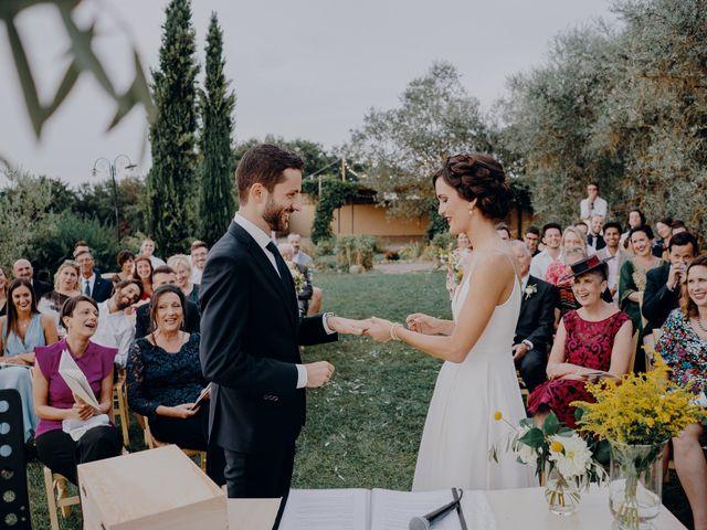Il matrimonio di Andrea e Eloise a Carmignano, Prato 56