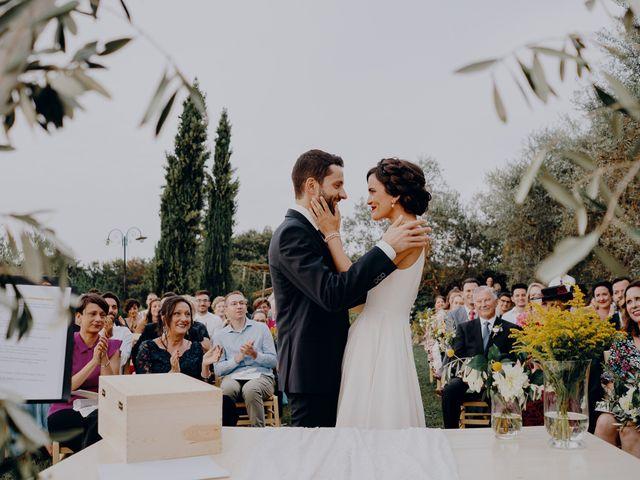 Il matrimonio di Andrea e Eloise a Carmignano, Prato 57