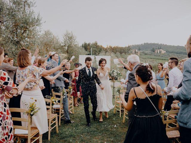 Il matrimonio di Andrea e Eloise a Carmignano, Prato 61