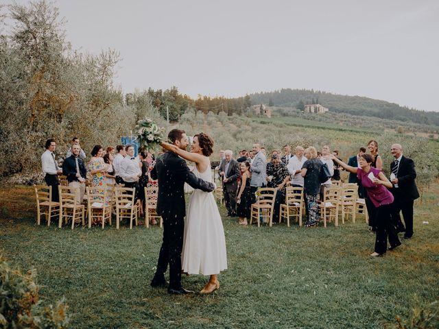 Il matrimonio di Andrea e Eloise a Carmignano, Prato 62