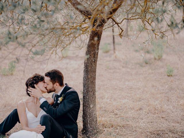 Il matrimonio di Andrea e Eloise a Carmignano, Prato 1