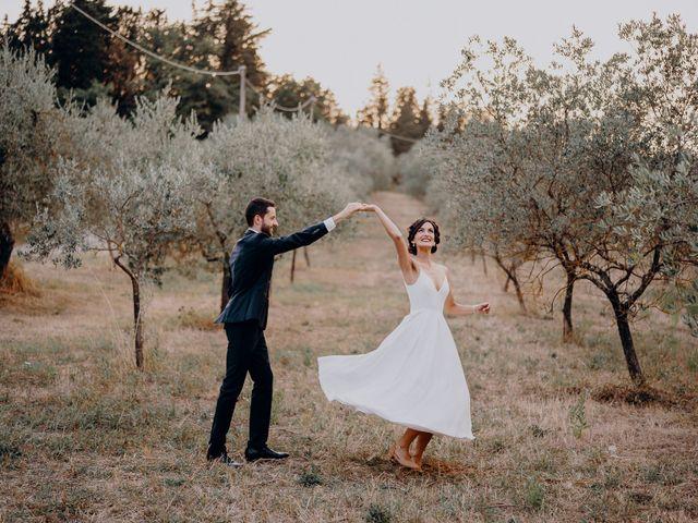 Il matrimonio di Andrea e Eloise a Carmignano, Prato 67