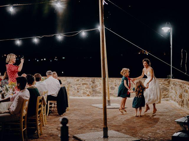 Il matrimonio di Andrea e Eloise a Carmignano, Prato 93