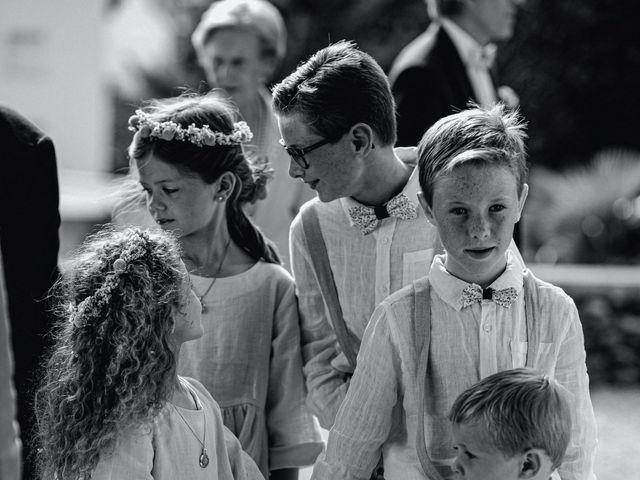 Il matrimonio di Baptiste e Clotilde a Belgirate, Verbania 37
