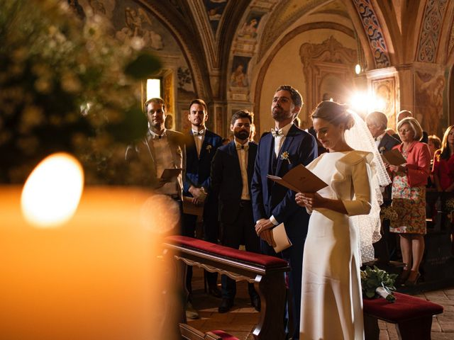 Il matrimonio di Baptiste e Clotilde a Belgirate, Verbania 43