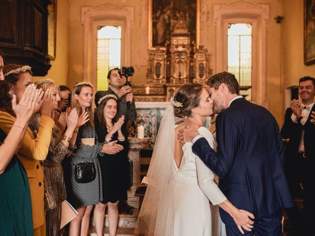 Il matrimonio di Baptiste e Clotilde a Belgirate, Verbania 45