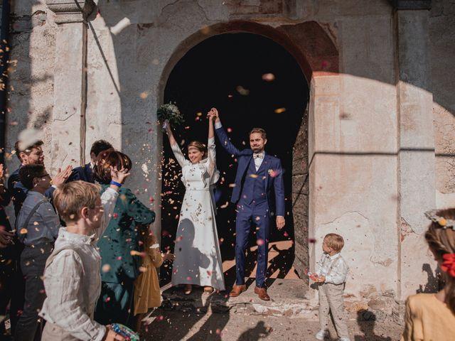Il matrimonio di Baptiste e Clotilde a Belgirate, Verbania 51