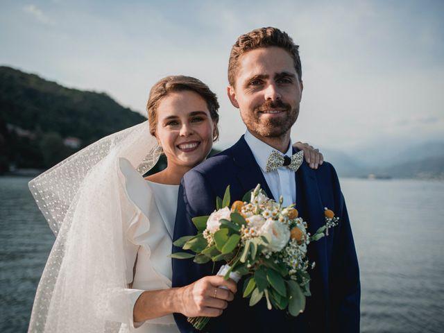Il matrimonio di Baptiste e Clotilde a Belgirate, Verbania 57