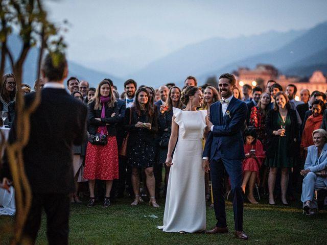 Il matrimonio di Baptiste e Clotilde a Belgirate, Verbania 74