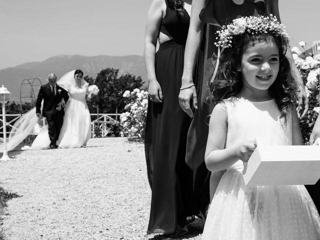 Il matrimonio di Giuseppe e Lucia a Buccino, Salerno 31
