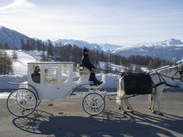 Il matrimonio di Sauro e Albina a Sestriere, Torino 7
