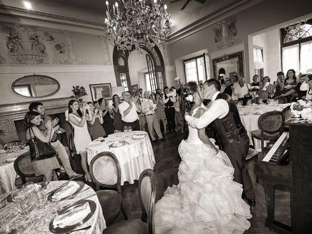 Il matrimonio di Fabrizio e Jasmin a Lecco, Lecco 43