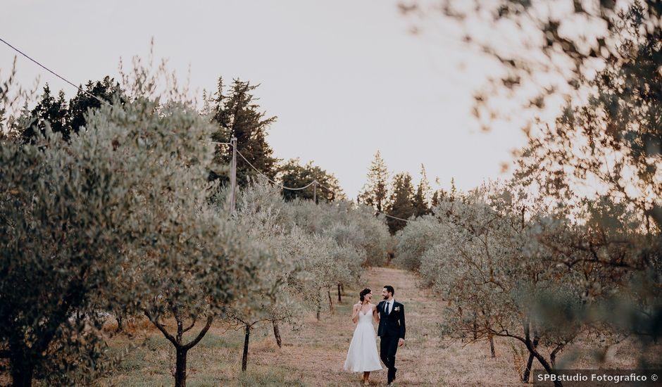 Il matrimonio di Andrea e Eloise a Carmignano, Prato