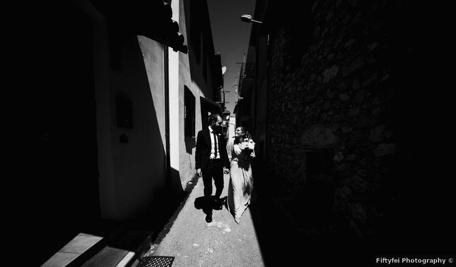 Il matrimonio di Federico e Serena a Tagliacozzo, L'Aquila