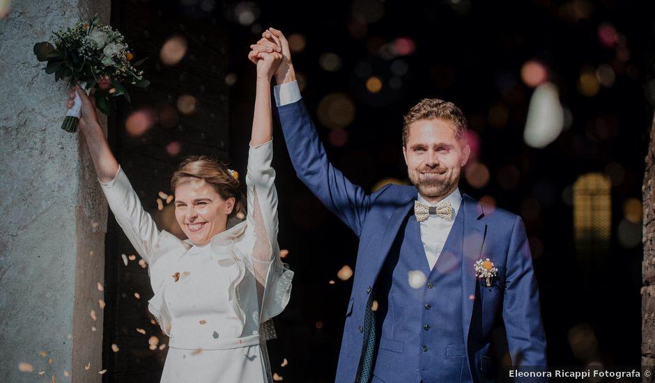 Il matrimonio di Baptiste e Clotilde a Belgirate, Verbania