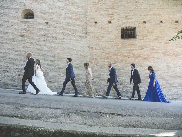 Il matrimonio di Stefano e Marika a Jesi, Ancona 43