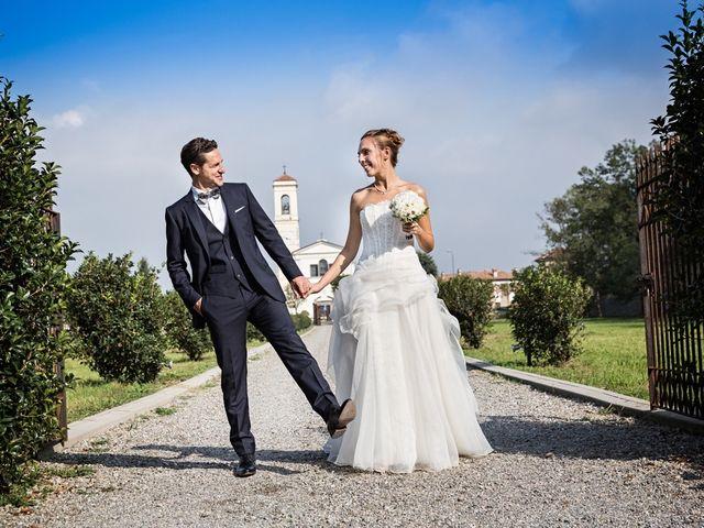 Il matrimonio di Giorgio e Elisa a Brembate, Bergamo 23