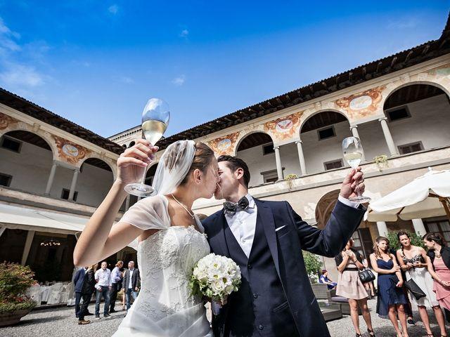 Il matrimonio di Giorgio e Elisa a Brembate, Bergamo 27