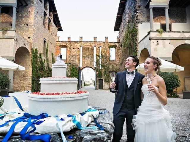 Il matrimonio di Giorgio e Elisa a Brembate, Bergamo 35