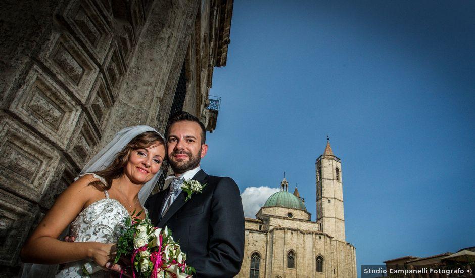 Il matrimonio di Patrizio e Miriam a Ascoli Piceno, Ascoli Piceno