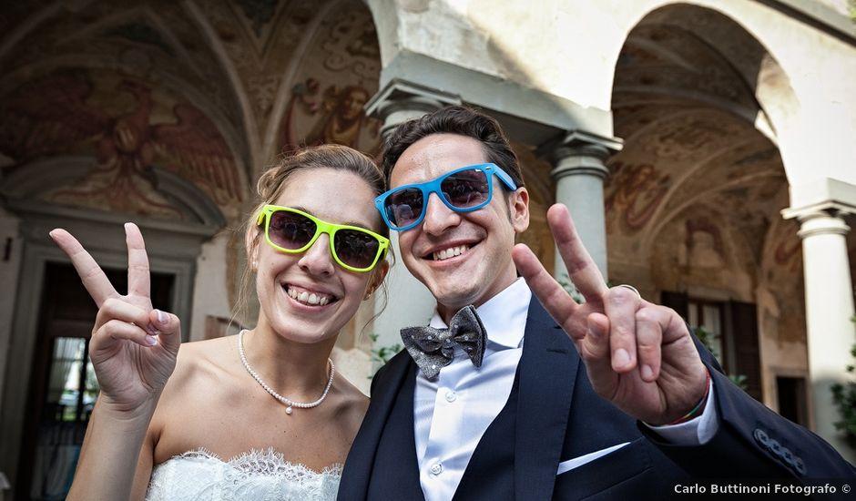 Il matrimonio di Giorgio e Elisa a Brembate, Bergamo