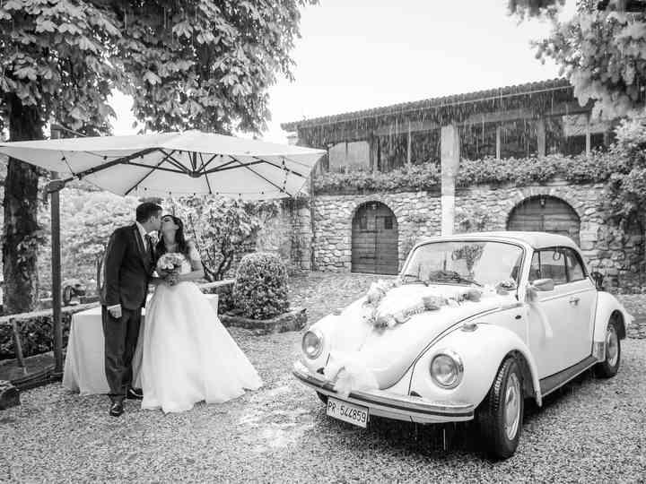 le nozze di Manuela e Giacomo