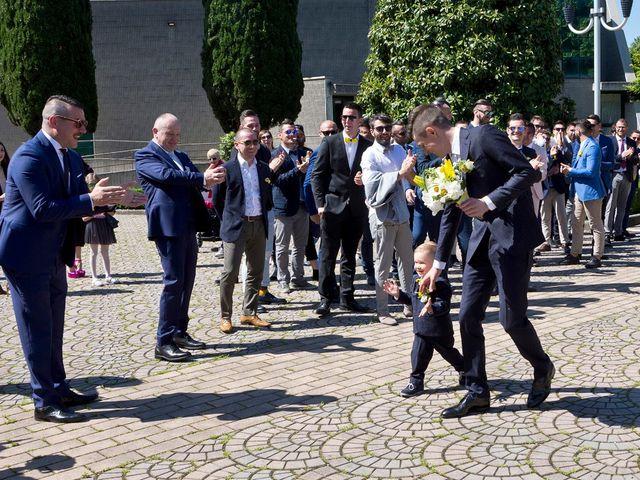 Il matrimonio di Mattia e Simona a Brescia, Brescia 44