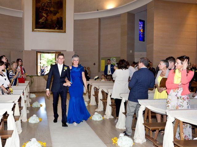 Il matrimonio di Mattia e Simona a Brescia, Brescia 52