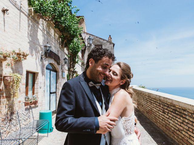 Il matrimonio di Davide e Debora a Altidona, Fermo 37