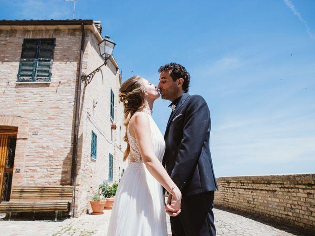 Il matrimonio di Davide e Debora a Altidona, Fermo 42