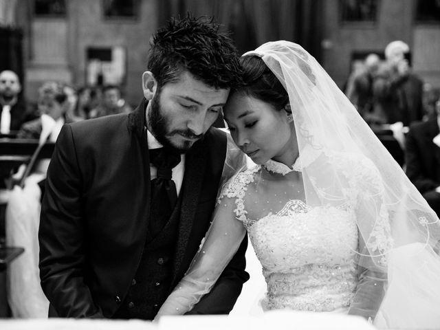 Le nozze di Huong e Christian
