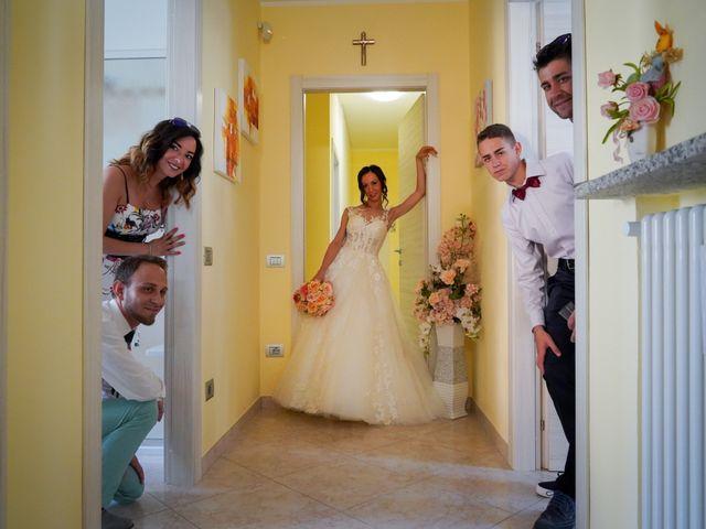Il matrimonio di Tindaro e Elena a Vigevano, Pavia 11