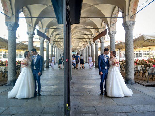 Il matrimonio di Tindaro e Elena a Vigevano, Pavia 35
